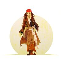 Jack Sparrow by Tlenon