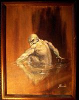 gollum by Alleycatsgarden
