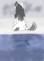 Nootkah: Fishing #2 by TheMs0kitty