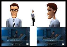 character modeling by sahas-hegde