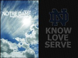Notre Dame Planner Submission by glors