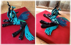 WIP Chrysalis sculpture 3 by Kitara88