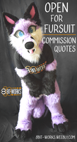 CLOSED For Fursuit Commission Quotes by TrelDaWolf