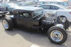Matte Black Hot Rod by DrivenByChaos