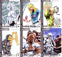 Fleer Retro sketch cards 3 by CRISTIAN-SANTOS