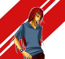 Bleach - Abarai Renji by Sanogirl