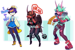 LETS GET MORE 80S- CLOSED AAAAAAA by Cate-adoptables