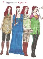 Mara Jade 2005 Ep 9 costumes 1 by Selinelle