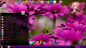 Tema Windows 7 Purpura by TutozzOrangee
