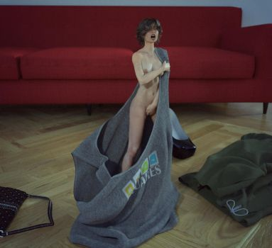 Shrunk out of Clothes II by Flagg3D