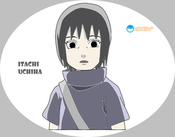 Itachi Child_NS by zKrXiTa