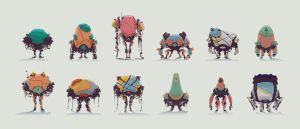Miner Bots Thumbs 1 by Grazeart