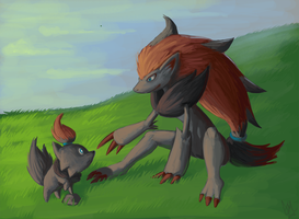 Zoroark by DrManiacal