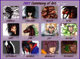 Summary Of Art 2012 by Feena-Freya