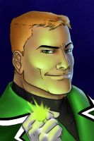 Guy Gardner by queensarwa