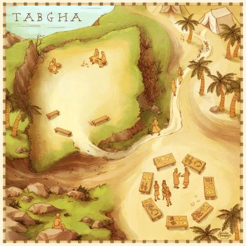Tabgha Game Board - commission by Kecky