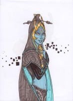 Midna's true form by Jacyll