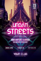 Urban Streets Flyer by styleWish