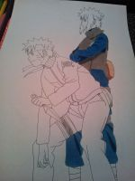 -:WIP 01:- Family Bonds - Naruto and Minato by SakakiTheMastermind