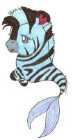 Newborn Merpony Zebra by ZebraRaine