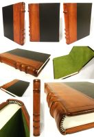 Leather-Paneled-Journal by BCcreativity