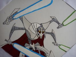 General Grievous cell painting by ShockBlade501