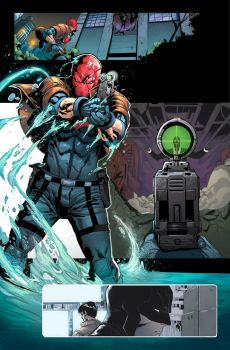 Red Hood and the Outlaws #5 by nefar007