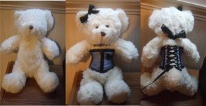 Teddy Bear Corset by DeadlyOpheliac