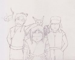 Kumo Academy Students by Ikasury