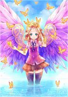 Angel in Aion by KazeAi7