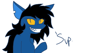wild vriska pone appeared by constell8ion