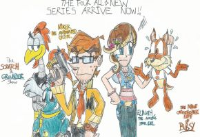The FTF's Four All-New Series Arrive Now!! by FelixToonimeFanX360