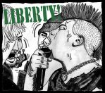 Liberty! Discography Cover by NickBentonArt
