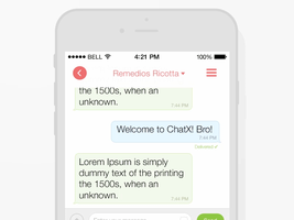 Chat Screen by Ramotion