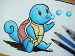 #007 Squirtle by Mky-Amako