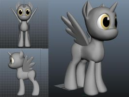 Female Pony Base Model WIP by Mental-Mischief