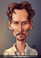 Johnny Depp (Caricature) by wilson-santos