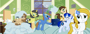Pillow War by Fluffation