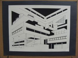 Perspective Drawing by Drawer888