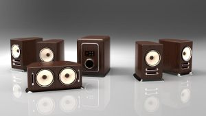 Wooden speakers by spidermc