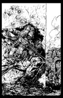 COD Ghost by Jim Lee by vicrosman