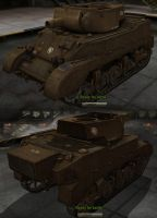 M5 GDI Light Tank by Arsaneus