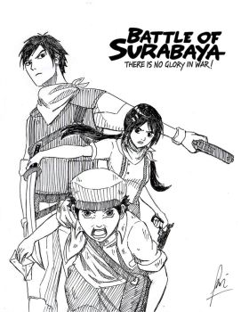 Battle of Surabaya Fan Art by furaki1994
