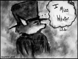 Dandy Fox: Missing Winter by Dandy-Jon