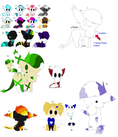 New/Unsold Adopts! by XxxAwesome-AdoptsxxX