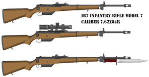 IR7 Infantry Rifle by TheEndOfPain