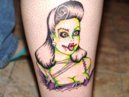 PSYCHO ZOMBIE Tattoo by tainted-orchid