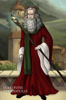 Santa as a Wizard by LadyAquanine73551