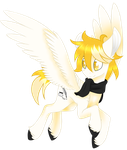 White Feather [Commission] by Emypony