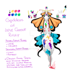Goddess of Love Colours by axiabetty